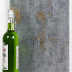 Objectsinglass splashback distressed design 1