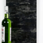 Objectsinglass splashback distressed design 3